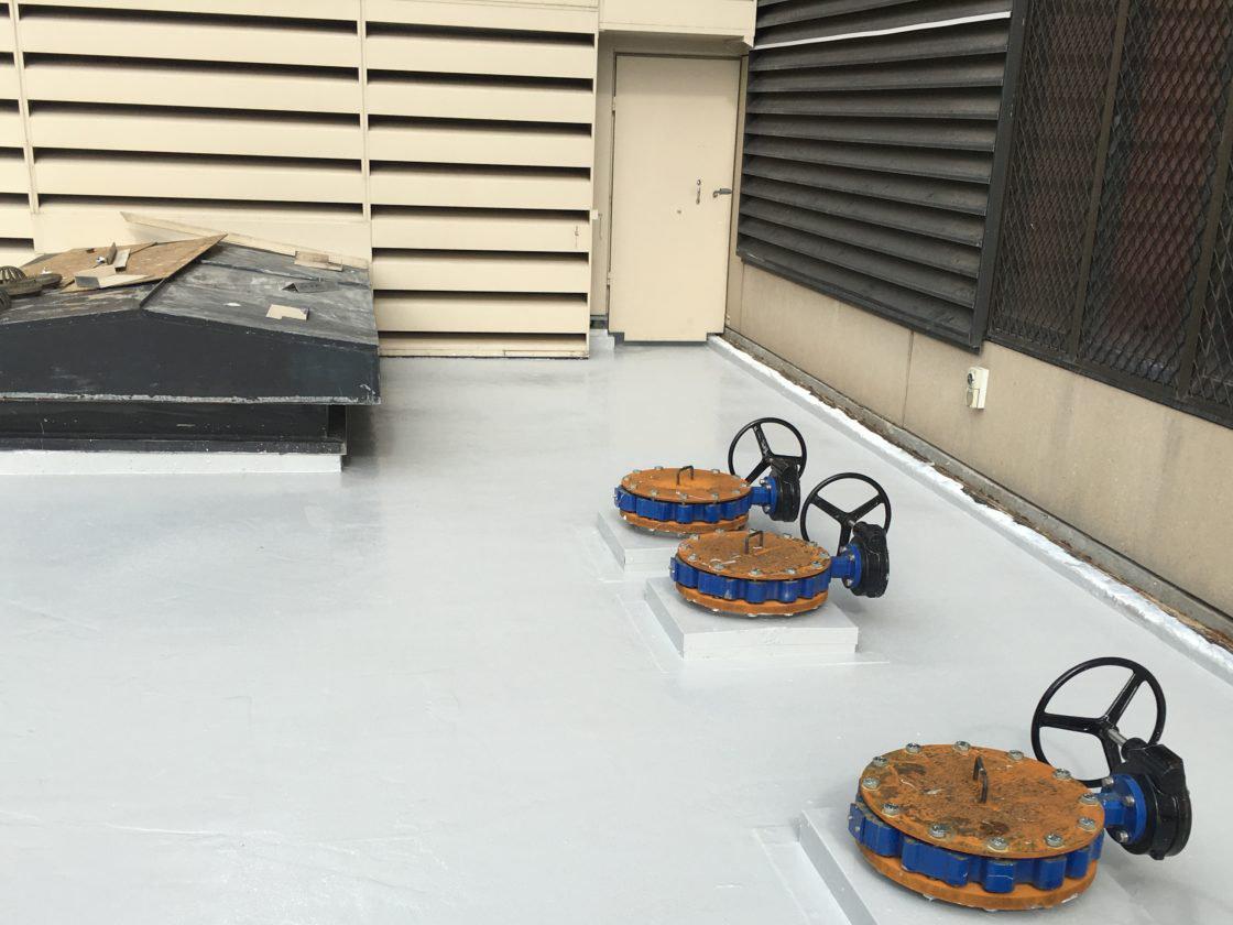 Waterproof Roof Coating Installation Melbourne