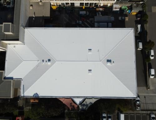 Roof Restoration At Monash Health